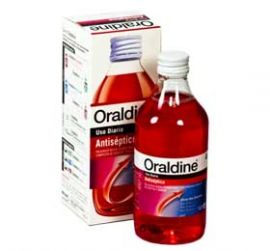 Oraldine Antiseptico Enjuague Bucal 400ml