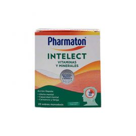 Pharmaton Intelect Vitaminas y Minerales 20 Sobres