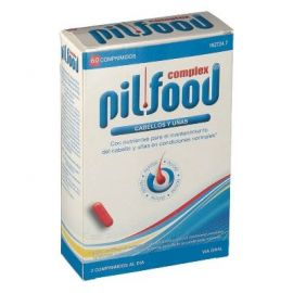 Pilfood Complex Cabello y Uñas 60 Comprimidos