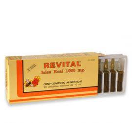 Revital Jalea Real + Vitaminas 20 Ampollas Bebibles