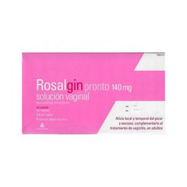 Rosalgin Pronto Solución Vaginal 5 Frascos Monodosis