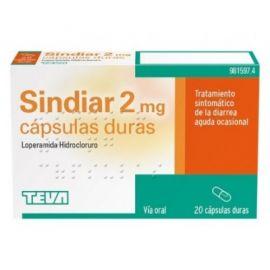 Sindiar 2 Mg 20 Cápsulas