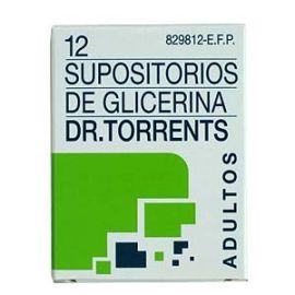 Supositorios Glicerina Torrents Adulto 12 Unidades