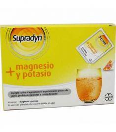 Supradyn + Magnesio y Potasio 14 Sobres Granulado