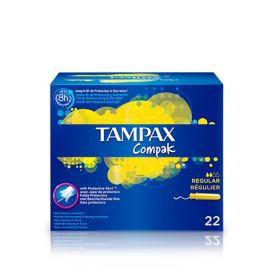 Tampax Compak Regular 22 Tampones