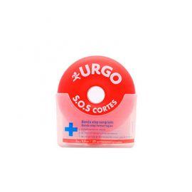 Urgo SOS Cortes Banda Stop Sangrado 3 m x2,5 cm