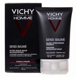 Vichy Homme Sensi Baume Bálsamo After-Shave Calmante 75 Ml