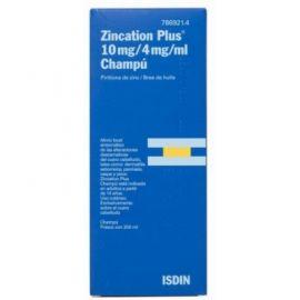Zincation Plus 10 Mg/ 4 Mg / ml Champú 200 Ml